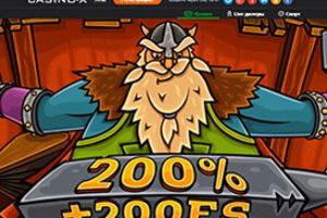 Вход на сайт Casino X с помощью соц. сетей