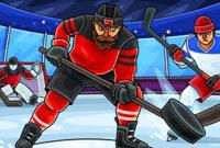 Акция в Казино Х – В хоккей играют настоящие мужчины