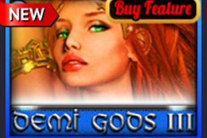 Слот Demi Gods III уже в Пин Ап Казино