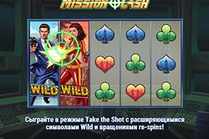 Cлот Mission Cash уже в Пин Ап Казино