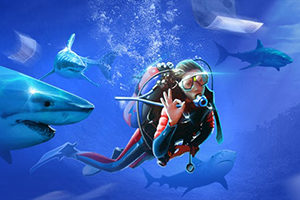 Турнир Плавание с акулами в Чемпион казино